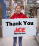 Ace Hardware, the helpful place!